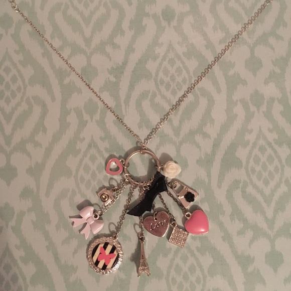 Claires Girls Trixie the Fox Pendant Necklace Mint Blue